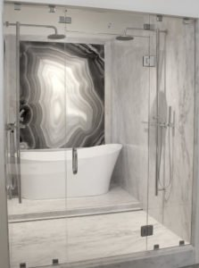 Stat+Gray,+Agata+Nero_Shower+V-7 - Whitewater Kitchen and Bath in SLC & Utah County