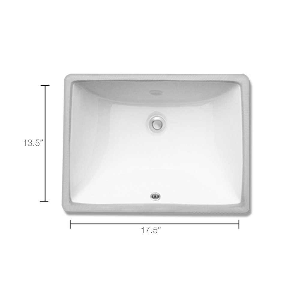 Square Undermount Vanity Mounted Faucet Required - Whitewater in SLC & Utah County