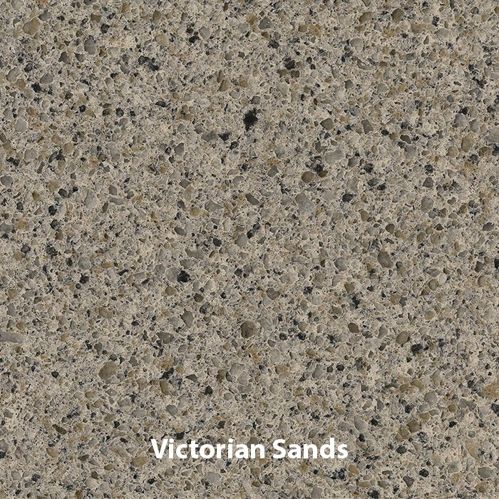 Victorian Sands Quartz Vanity Top - Whitewater in SLC & Utah County
