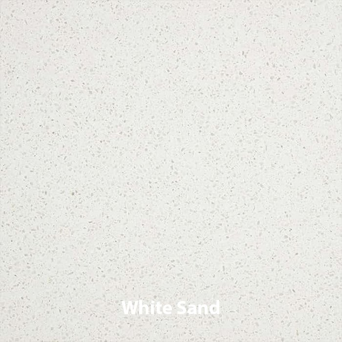 White Sand Quartz Vanity Top - Whitewater in SLC & Utah County